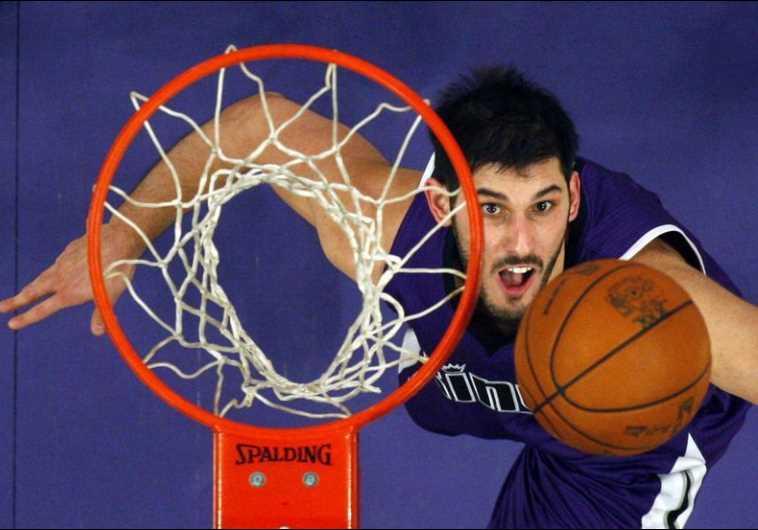 Israeli basketball star Omri Casspi of the Sacramento Kings