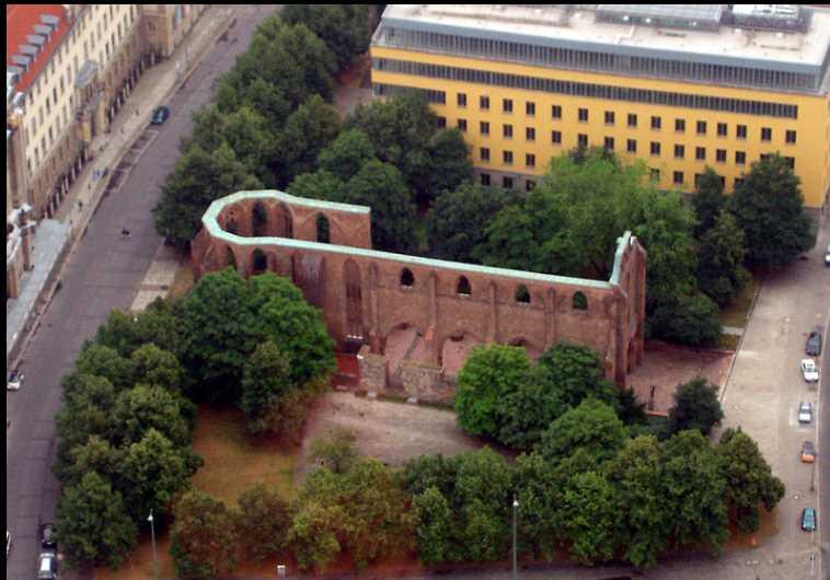 Ruins of  Franciscan Monastery in Berlin