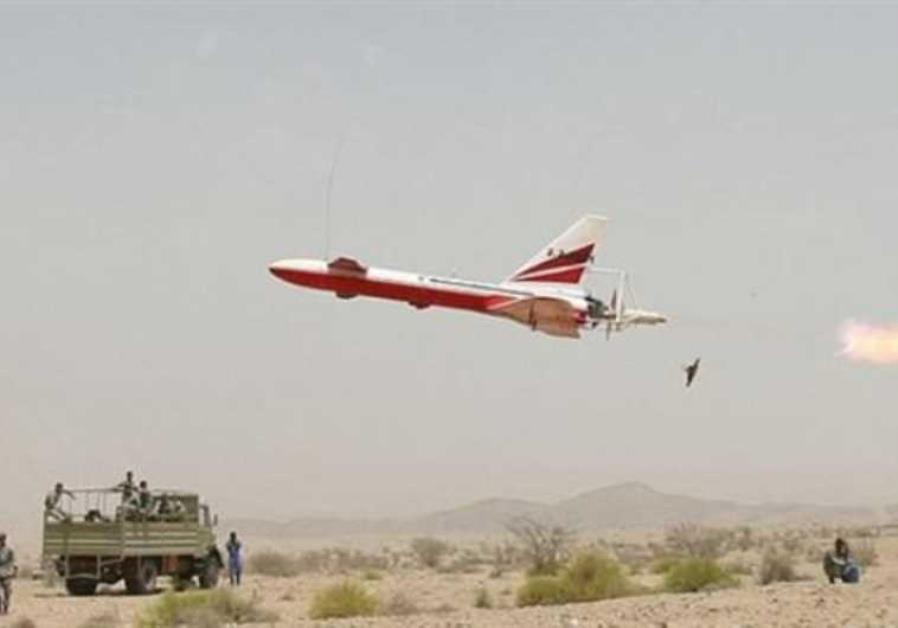 An Iranian-made Ababil reconnaissance drone