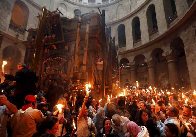 holy fire jerusalem