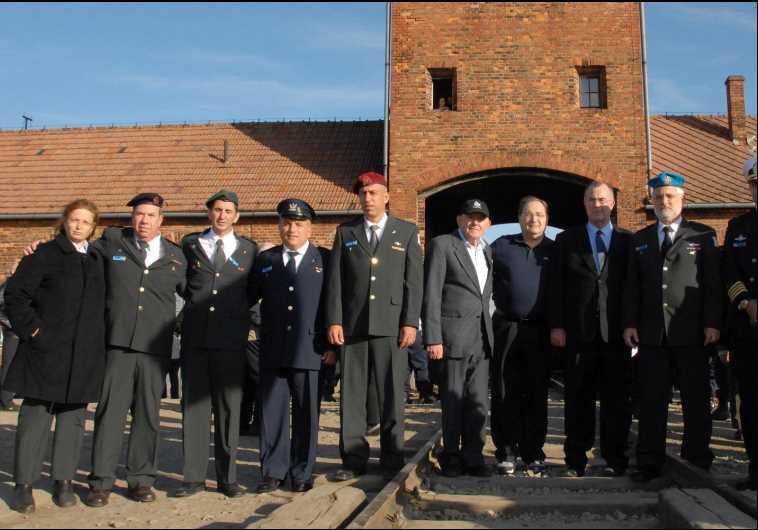 IDF at Auschwitz