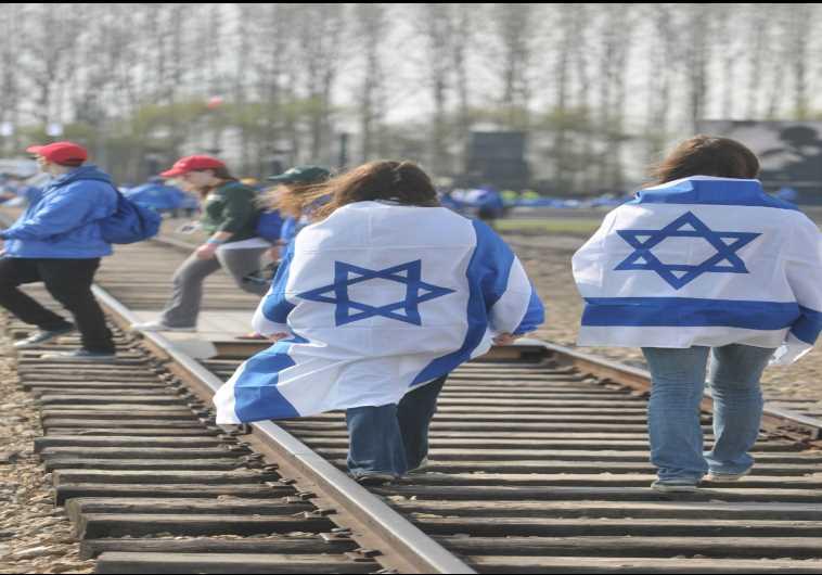 Israelis at Auschwitz