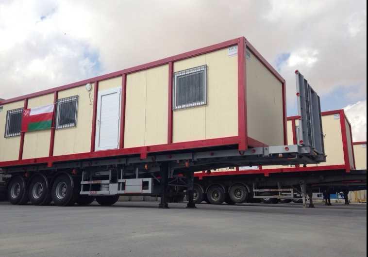 Caravans arrive from Oman