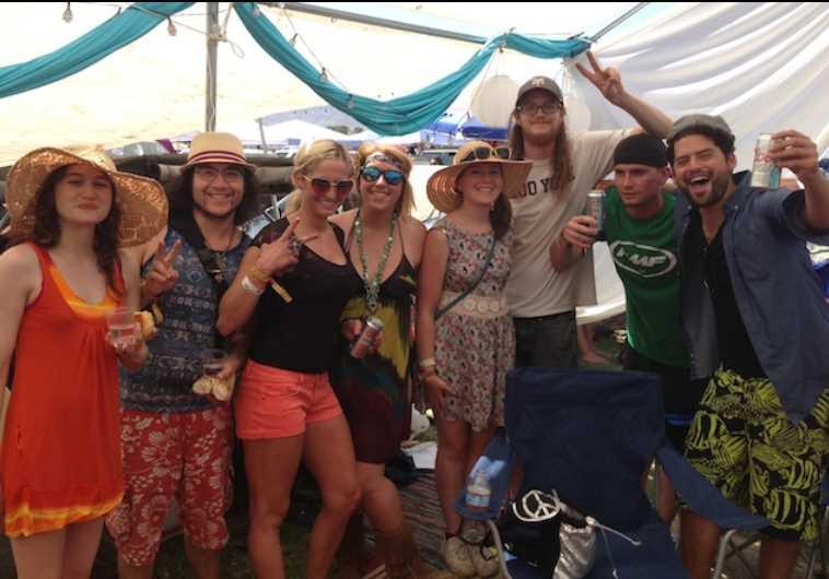 Coachella Shabbat Tent