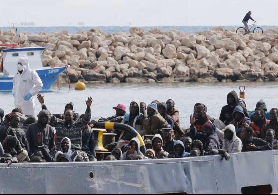 Migrants boat (illustrative).