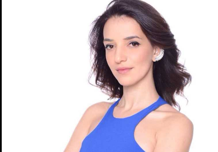 Channel 2 television's Lucy Aharish