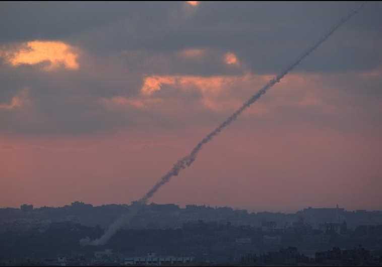 gaza rocket