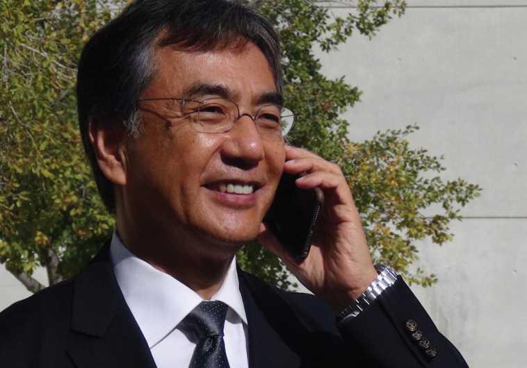 SHIGEO MATSUTOMI, Japan's ambassador to Israel