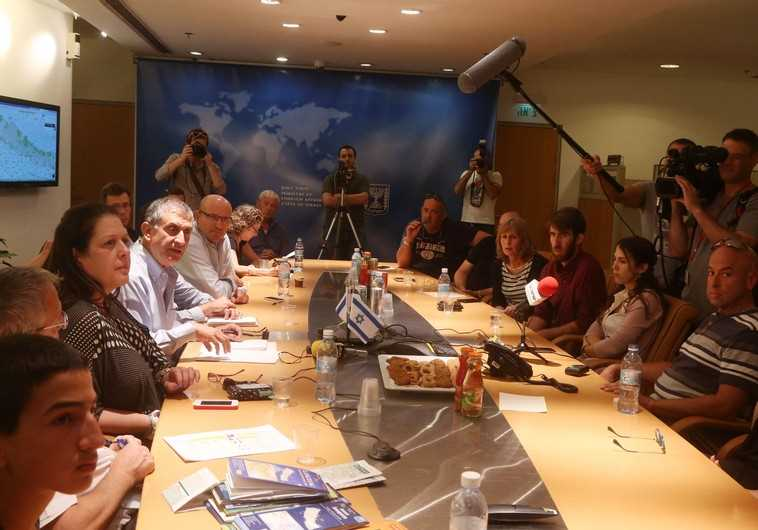 Families of stranded trekkers press Israeli officials to bring their children home from Nepal