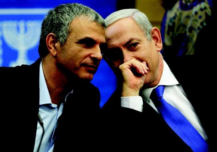 Moshé Kahlon et Benjamin Netanyahou