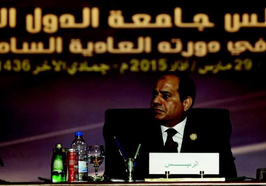 Le président égyptien al-Sissi