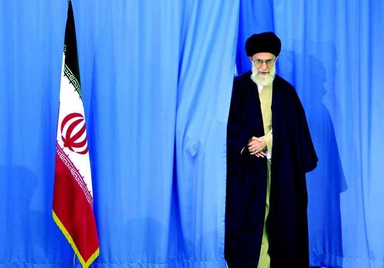 L'ayatollah Ali Khamenei, guide suprême de l'Iran