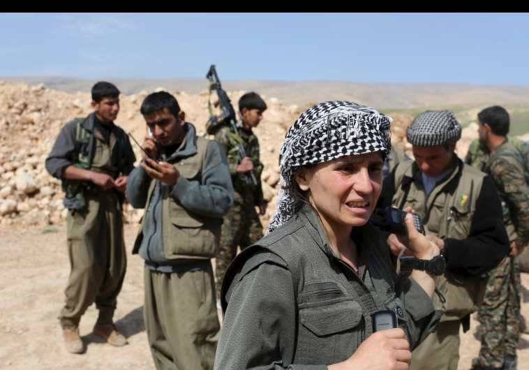 Kurdish Women Battle Islamic State