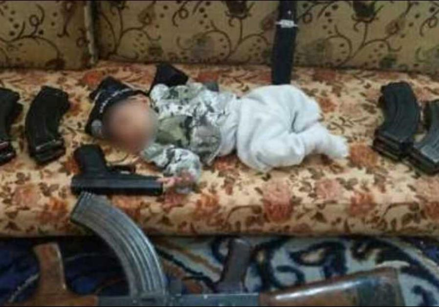 The five-month-old son of an Israeli Arab, Salah a-Din Mohameed, who joined ISIS