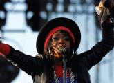 SINGER LAURYN HILL performs at the Coachella Valley Music & Arts Festival California in 2011. BDS ac