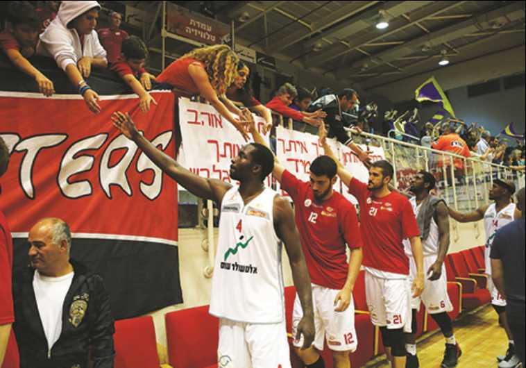 Hapoel Gilboa/Galil basketball