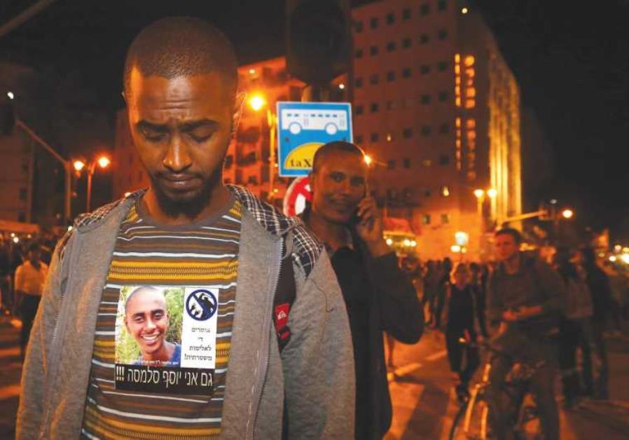 Ethiopian-Israeli protest