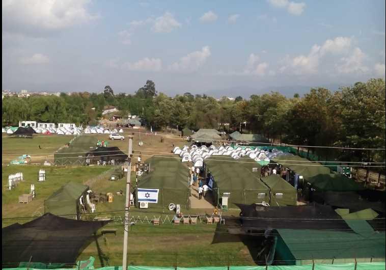 The IDF field hospital in Nepal