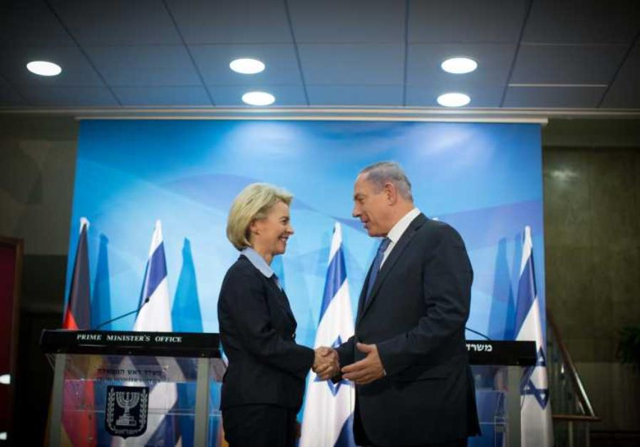 PM Netanyahu and German Defence Minister