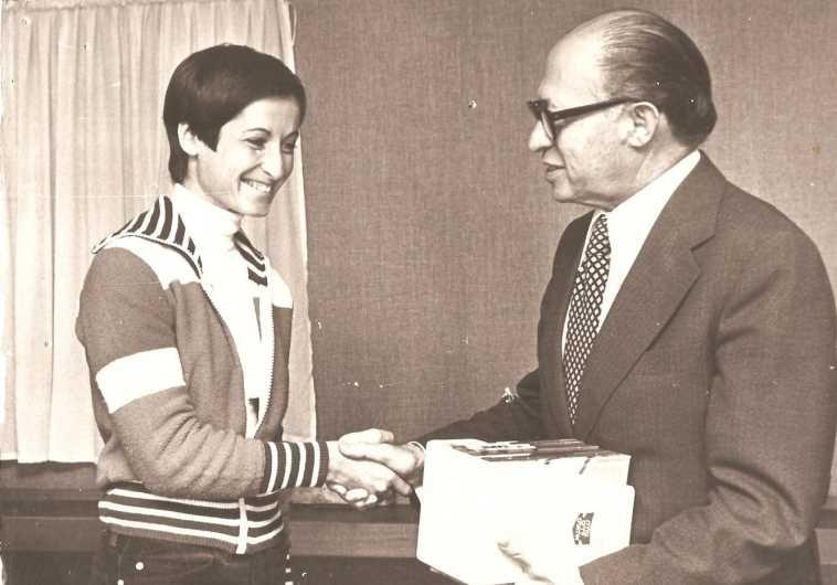 Ron-Feder-Amit with Menachem Begin