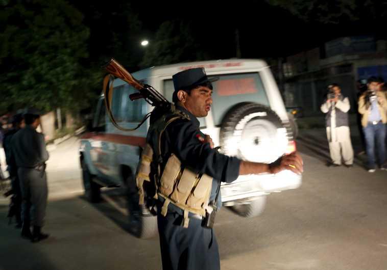 Afghan policeman