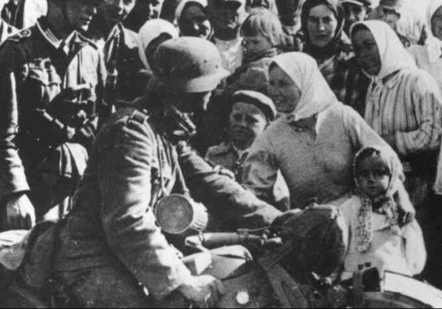 Ukrainians greeted the Nazis as liberators during the Second World War