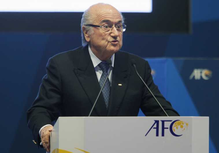 FIFA President Sepp Blatter speaks at the 26th Asian Football Confederation (AFC) Congress in Manama