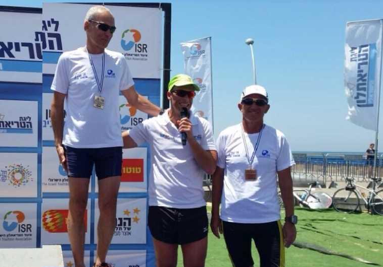 Omer Bar-Lev, at Tel Aviv Triathlon, May 16, 2015