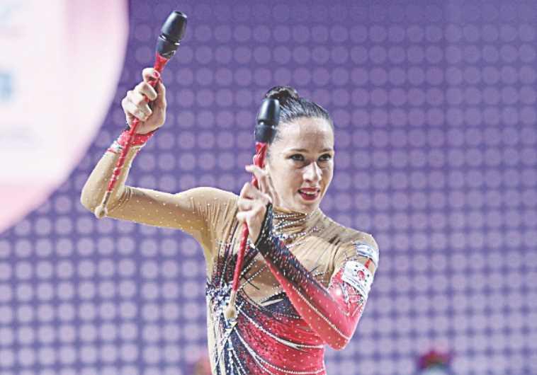Israeli gymnast Neta Rivkin