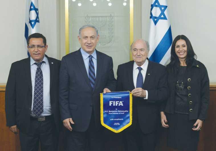 Netanyahu, Blatter, Eini, and Regev