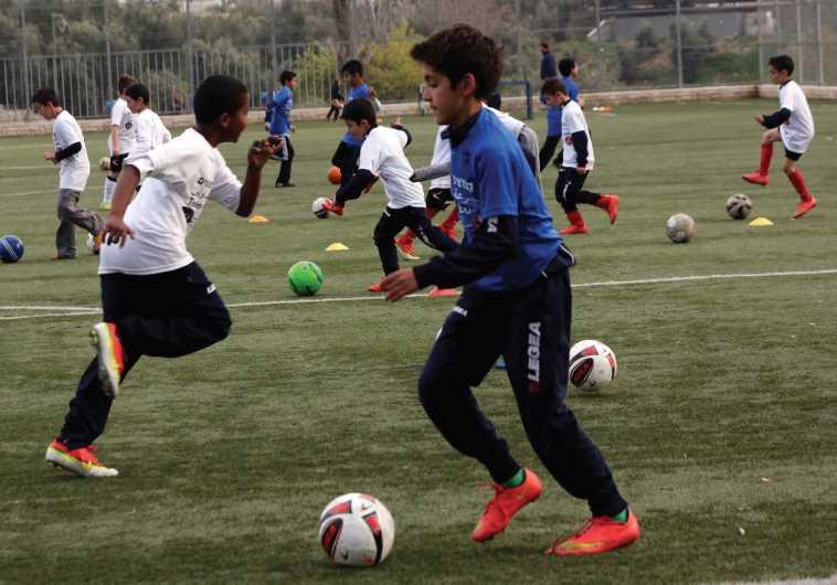 Jewish and Arab football