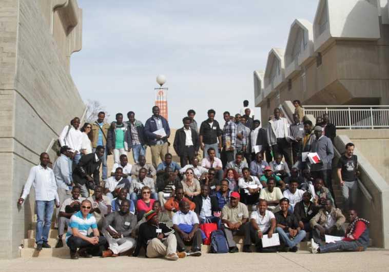Refugees and asylum seekers at academic program at BGU