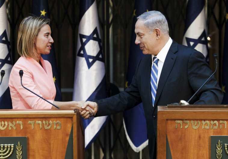 Netanyahu Mogherini