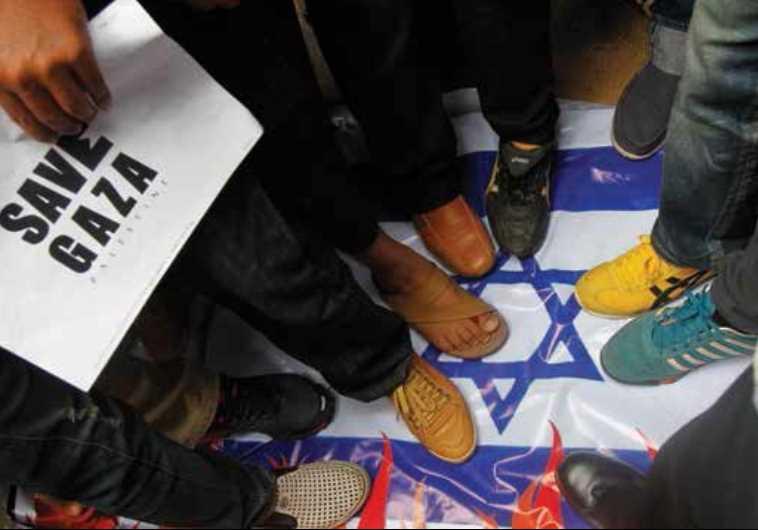 Anti-Israel protest in Bangkok