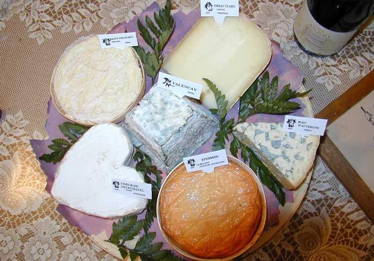 Des fromages bien français