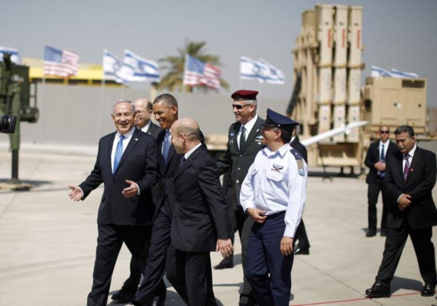 obama israel iron dome