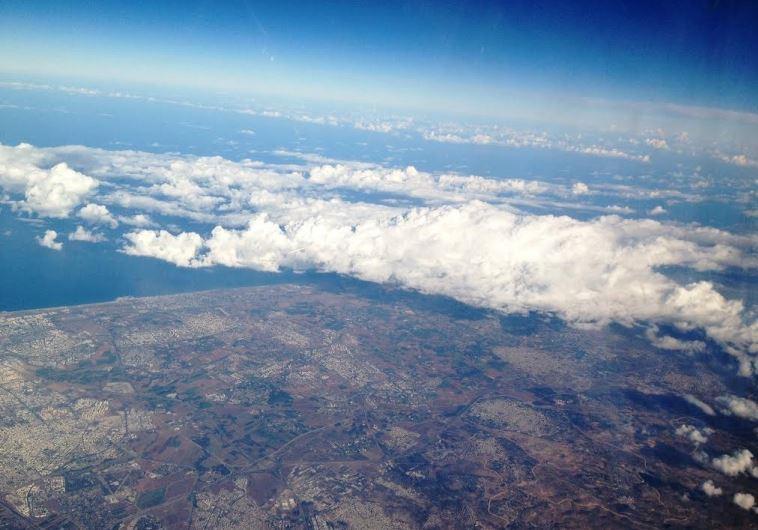 birds-eye view Israel
