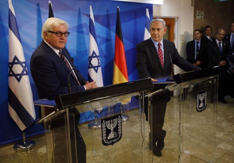 Netanyahu Steinmeier
