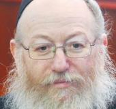 Ya'acov Litzman, the deputy health minister