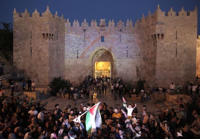 Clash in Jerusalem