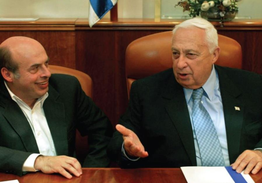 Natan Sharansky and Ariel Sharon