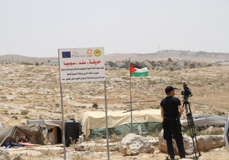 illegal Palestinian village