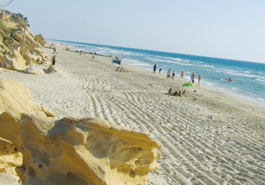 Ashkelon beach