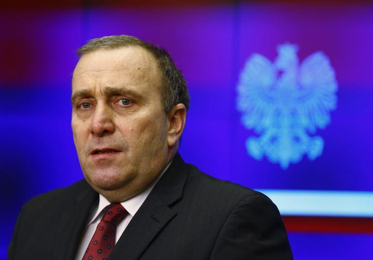 Poland's Foreign Minister Grzegorz Schetyna