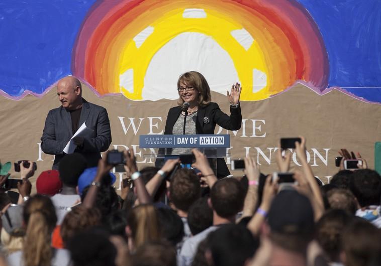 US Navy christens ship for former congresswoman Gabrielle Giffords