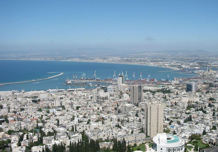Haifa bay (photo credit: URIA ASHKENAZY/WIKIMEDIA COMMONS)