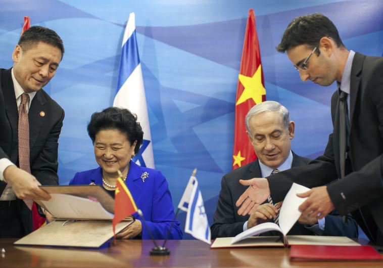 Israel China