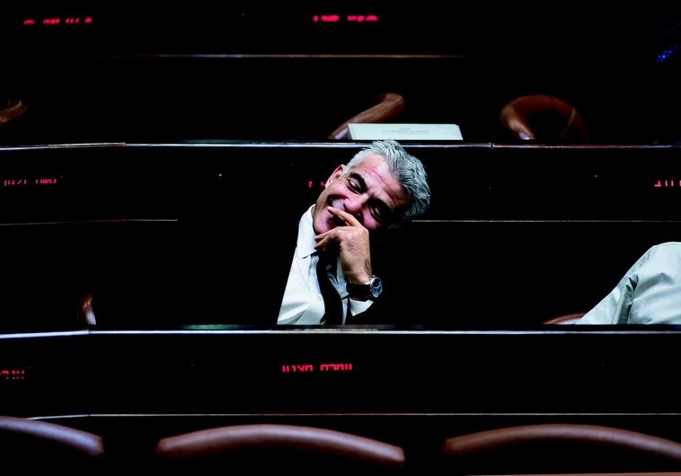 Yair Lapid à la Knesset
