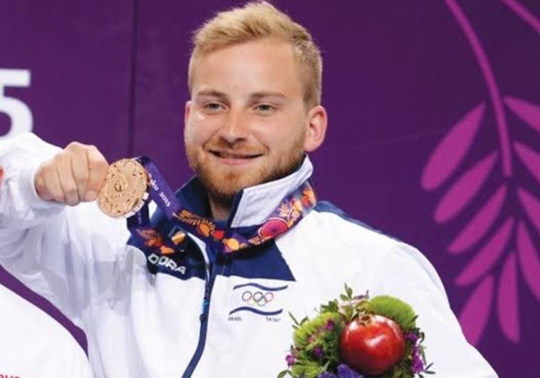 Israeli shooter Sergey Richter wins bronze medal at European Games