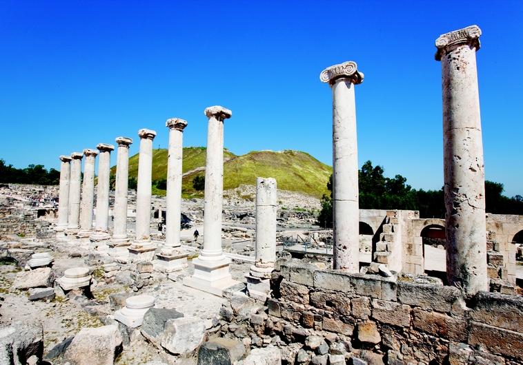 Le Cardo romain de Beit Shean